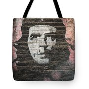 Che Guevara Wall Art In China Tote Bag