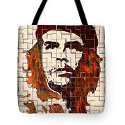 Che Guevara Watercolor Painting Tote Bag