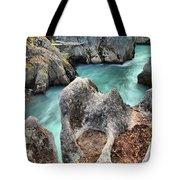 Cheakamus River Channel Tote Bag
