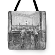 Check Forger, 1890 Tote Bag