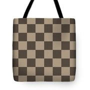 Checkerboard Pattern Fractal Flame Tote Bag by Keith Webber Jr