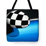 Checkered Finish Tote Bag