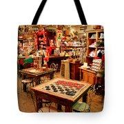 Checkers At Jefferson General Store Tote Bag