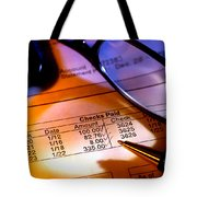Checking Account Statement Tote Bag