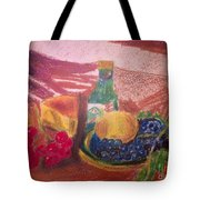Chees And Bluberries Tote Bag