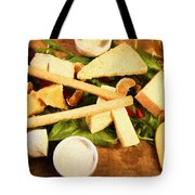 Cheese And Fruit Tote Bag