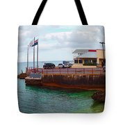 Cheese Burger In Paradise Tote Bag