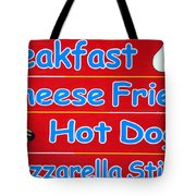 Cheese Fries Tote Bag by Skip Willits