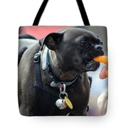 Cheese Puffs Pup Tote Bag