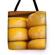 Cheese Wheels Tote Bag