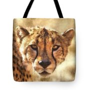 Cheetah One Tote Bag