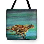 Cheetah Run Tote Bag