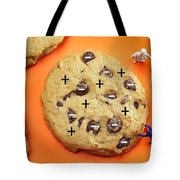 Chef Depicting Thomson Atomic Model By Cookies Food Physics Tote Bag