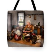 Chef - Kitchen - Cleaning Cherries  Tote Bag