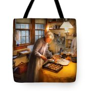 Chef - Kitchen - Coming Home For The Holidays Tote Bag