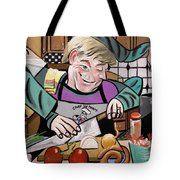 Chef With Heart Tote Bag