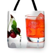 Chefs Making Cherry Juice Little People On Food Tote Bag