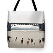 Chehalis River Aberdeen Wa Tote Bag