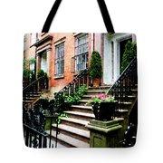 Chelsea Brownstone Tote Bag