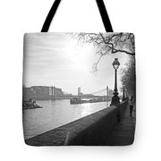 Chelsea Embankment London Uk 3 Tote Bag