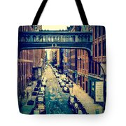 Chelsea Street As Seen From The High Line Park. Tote Bag