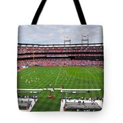 Chelsea Vs Manchester City At Busch Tote Bag