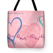Chemical Thermodynamic Equation For Love 2 Tote Bag