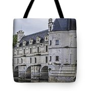 Chenonceau And River Cher Tote Bag