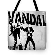 Chequebook Vandal Tote Bag