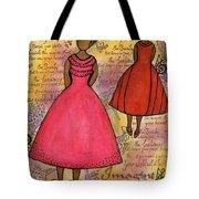 Cherish The Music... Tote Bag