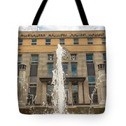 Cherokee County Courthouse 3 Tote Bag