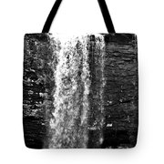 Cherokee Falls In Monochrome Tote Bag