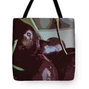 Cherries Abstract Tote Bag