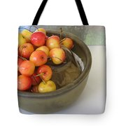 Cherries And Glass Filler Tote Bag