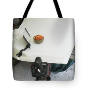 Cherries And Reflector Tote Bag