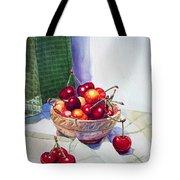 Cherries Tote Bag by Irina Sztukowski