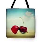 Cherries Love Tote Bag
