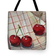 Cherry Talk By Irina Sztukowski Tote Bag