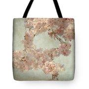 Cherry Blossom Bridal Bouquet Tote Bag