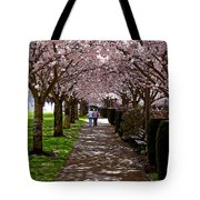 Cherry Blossom Friends Tote Bag