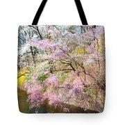 Cherry Blossom Land Tote Bag