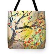 Cherry Blossoms 1 Tote Bag