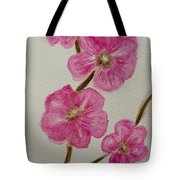 Cherry Blossoms Blooming  Tote Bag