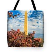 Cherry Blossoms In Washington Tote Bag