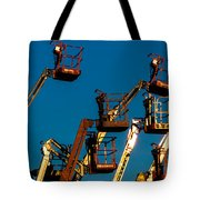 Cherry Cherry Pickers Tote Bag
