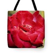 Cherry Cream Rose Tote Bag