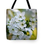 Cherry Flowers Tote Bag