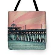 Cherry Grove Fishing Pier Tote Bag