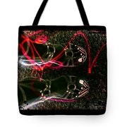 Cherry Neon Shoes Tote Bag