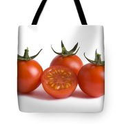 Cherry Tomatoes Cutout Tote Bag